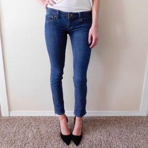 Free People | Zip Ankle Skinny Jeans